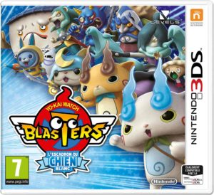 Yo-kai Watch Blasters Escadron du Chien Blanc Nintendo 3DS