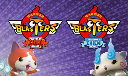 Yo-Kai Watch Blasters arrive pour la rentrée ! Seras-tu Peloton du Chat Rouge ou Escadron du Chien Blanc ?