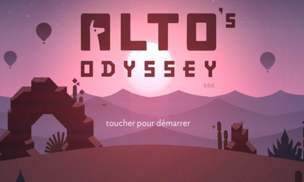 Alto's Odyssey : le magnifique runner game gratuit sur Android