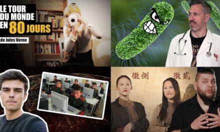 Apprendre avec YouTube #86 :  Miss Book, Vraiment Top, La Prof, Dans ton corps, Virago…