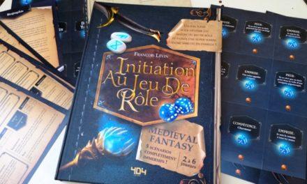 Initiation au jeu de rôle – Medieval Fantasy : un livre-jeu pour découvrir le jeu de rôle