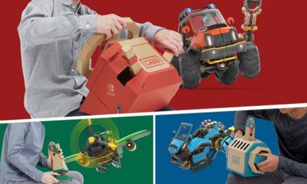 Nintendo Labo sort un nouveau kit véhicules
