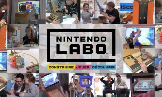 Nintendo Labo lance son concours de création avec une Switch collector à gagner