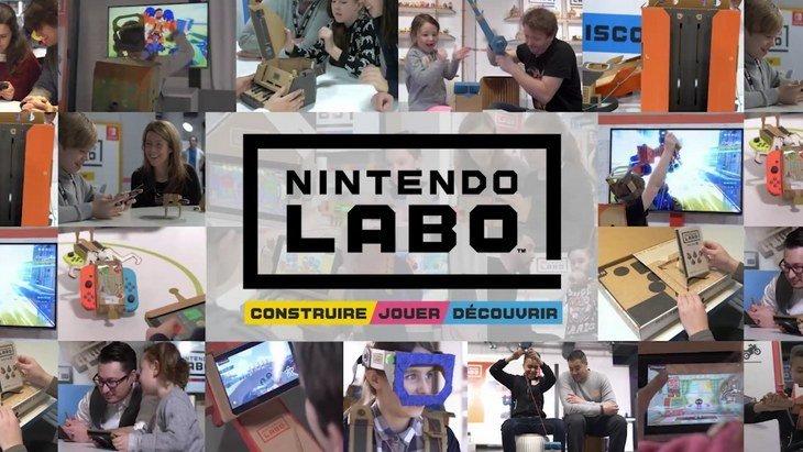 Le Concours de Créations Nintendo Labo lancé en France — Nintendo