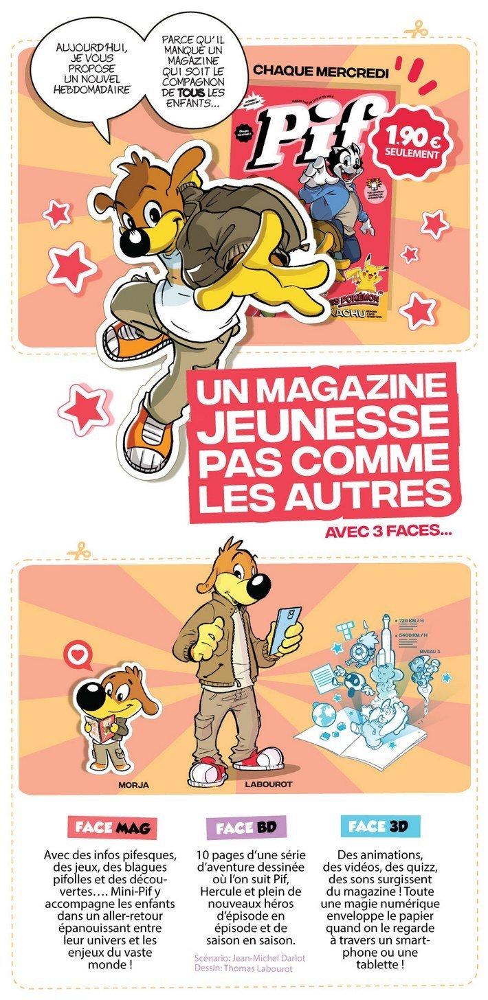 Pif magazine relance