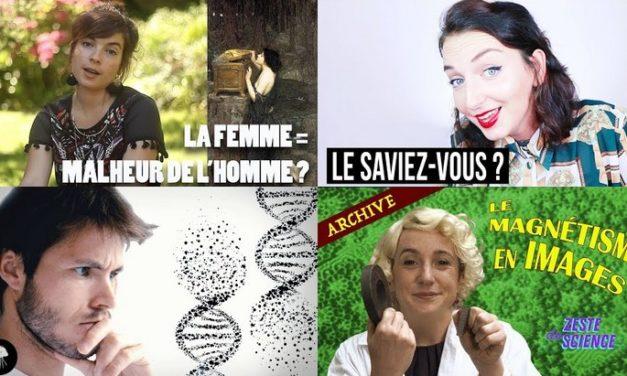 Apprendre avec YouTube #90 : Dirty Biology, L'Esprit Sorcier, la P'tite Jane, Hugo Décrypte…