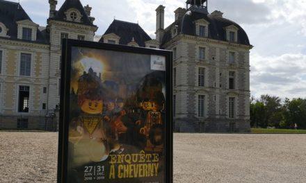 Mystère à Cheverny, une expo LEGO et une enquête dans le château de Tintin !