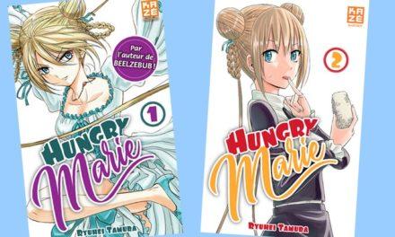 Rentrée Manga (2/10) : Hungry Marie (T1 et T2), des lycéens, une princesse ressuscitée et du kung-fu