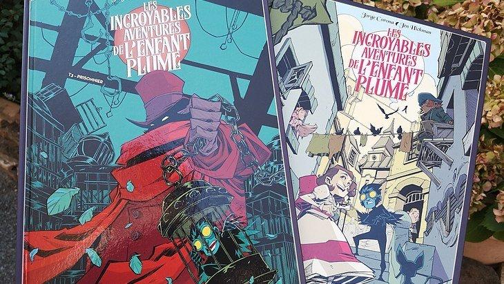 La BD du week-end #47 : Les Incroyables aventures de l'enfant plume (T2 et T3)