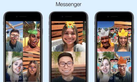 Facebook Messenger lance des jeux en réalité augmentée avec le chat vidéo