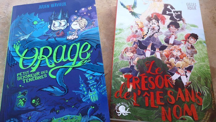 Lecture de fin d'été 2/3 : c'est l'aventure avec les romans de Poulpe Fictions