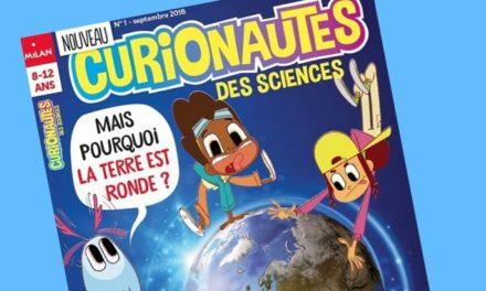 Curionautes, le nouveau magazine scientifique pour les enfants