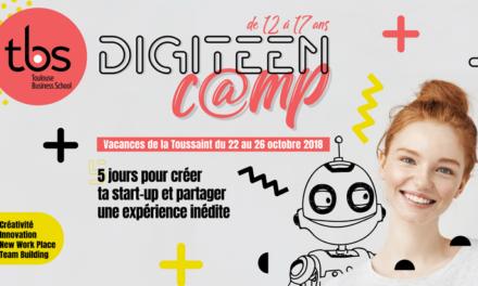 Digiteen C@amp : 5 jours pour créer ta startup avec Toulouse Business School