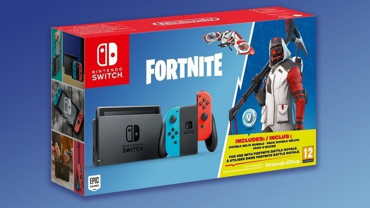 La Nintendo Switch sort un pack Fortnite
