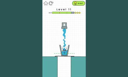 Happy Glass, un jeu mobile de réflexion et de logique