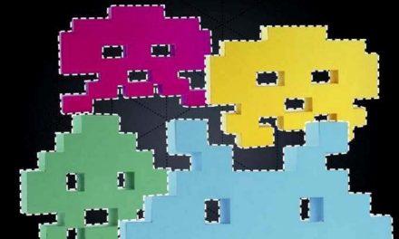 Papertoy Space Invaders  : une déco geek à créer soi-même