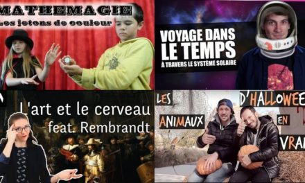 Apprendre avec YouTube #100 : Nota Bene, Museonaute, Scienticfiz, String Theory, Toopet…