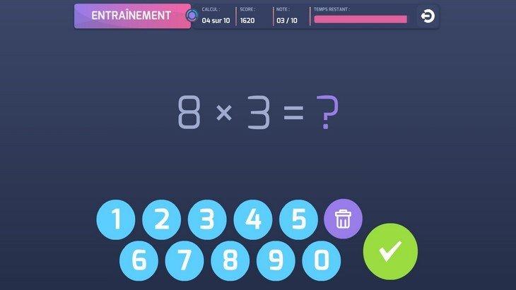 Les apps de la rentrée (7/10) : Défi Tables, pour réviser ses tables de multiplication