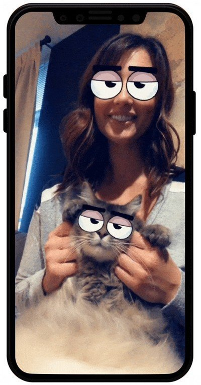 exemple snapchat lense chat