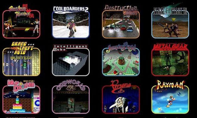 PlayStation Classic : découvre les 20 jeux de la console rétro !