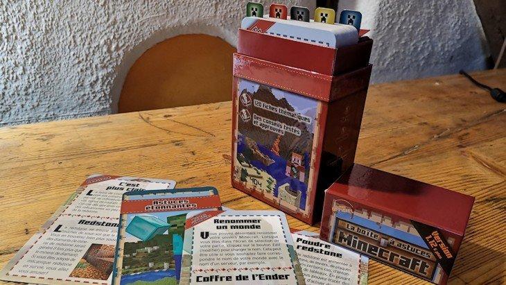 La boîte à astuces Minecraft : 120 fiches pour construire ton univers