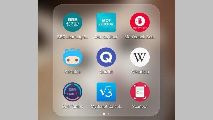 10 applications mobiles pour réussir au collège et au lycée