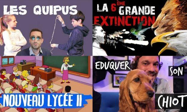 Apprendre avec YouTube #104 : Le Grand JD, Dr Nozman, Scienticfiz, Toopet…