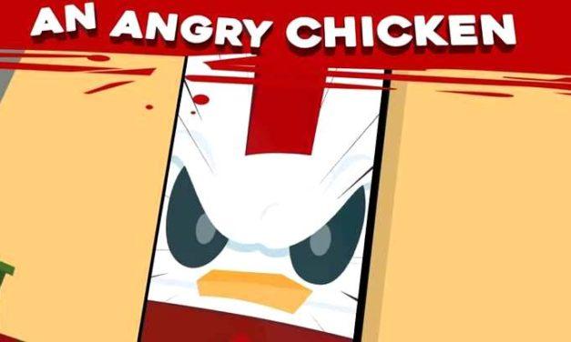 Blood Food, le jeu mobile où les poulets contre-attaquent contre la maltraitance animale