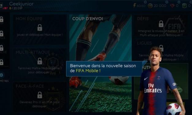 FIFA Mobile : la nouvelle saison dispo sur l'App Store et Google Play