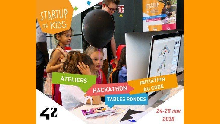 Startup For Kids 2018 : 3 journées pour découvrir la robotique, la programmation et des applis innovantes