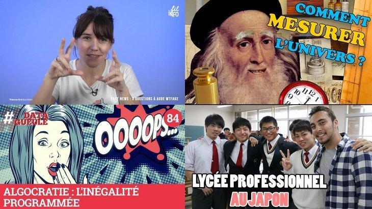 Apprendre avec YouTube #107 : Craft, Zeste de Science, Data Gueule, L'Esprit Sorcier, Ichiban Japan