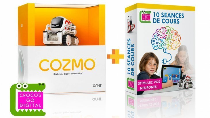 Crocos Box : une box pour apprendre à coder avec le robot Cozmo