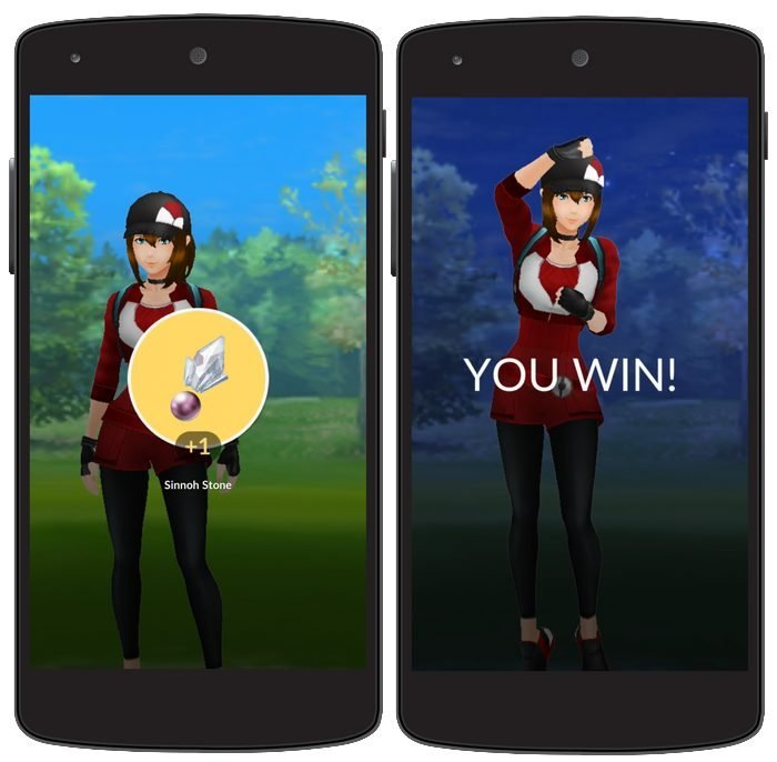 pokemo go win battle