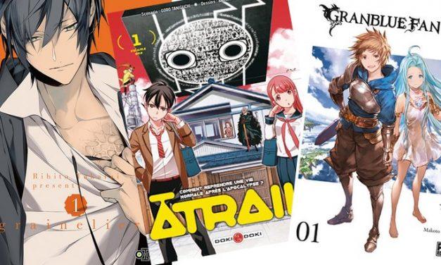 10 nouvelles séries manga pour bien commencer 2019