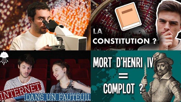 Apprendre avec YouTube #113 : Nota Bene, Dr Nozman, Hugo Décrypte, Simon Cogite…
