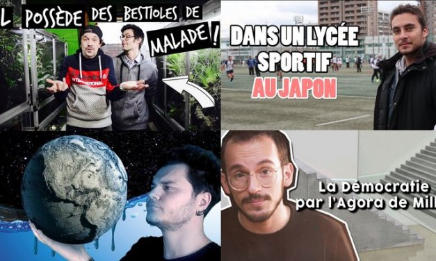 Apprendre avec YouTube #112 : Poisson Fécond, Toopet, Cyrus North, Arte Junior…