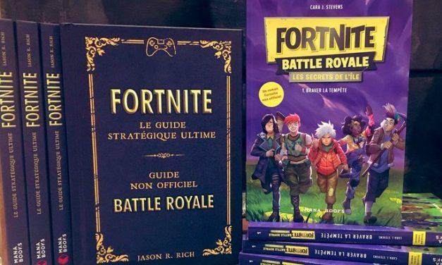 Fortnite : un guide et un roman publiés chez Mana Books