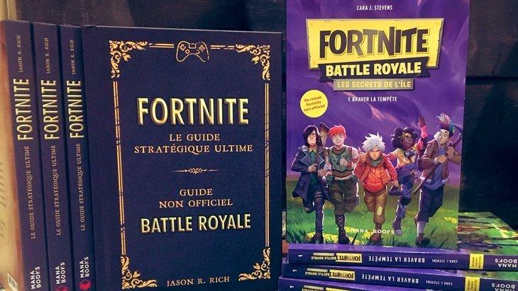 Fortnite Un Guide Et Un Roman Publies Chez Mana Books