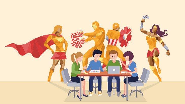 """Magickathon, le 1er Hackathon inter-collèges """"code ton super-héros """" par Magic Makers"""