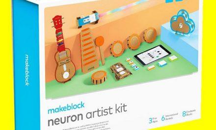 Test du «Neuron Artist Kit» de Makeblock : quand la musique se code !