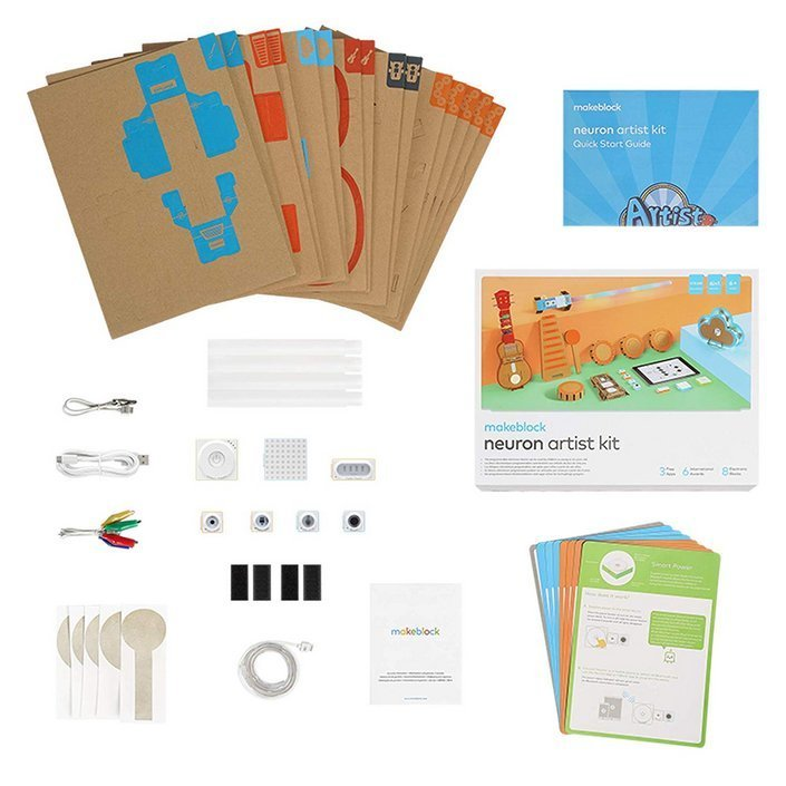 makeblock neuron artist kit contenu
