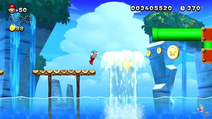 New Super Mario Bros U. Deluxe débarque sur la Switch