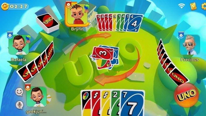 uno mattel smartphone gameplay