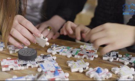 ActivePuzzle : un robot-puzzle pour découvrir la robotique