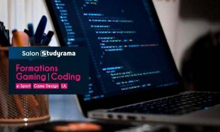Studyrama lance un 1er salon d'orientation dédié aux formations gaming, e-sport et coding
