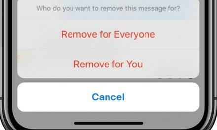 Messenger : comment supprimer un message après son envoi ?
