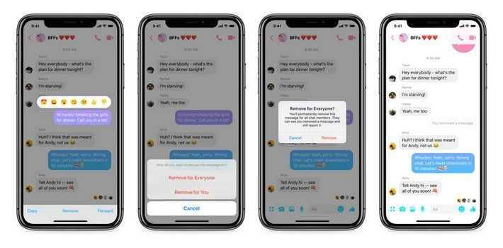 messenger supprimer