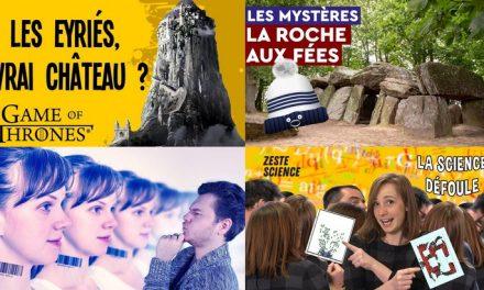 Apprendre avec YouTube #121 : Poisson Fécond, Nota Bene, Le Vortex, Les petits aventuriers…