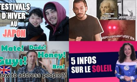 Apprendre avec YouTube #122 : AstronoGeek, Science Etonnante, Passé sauvage, Ichiban Japan