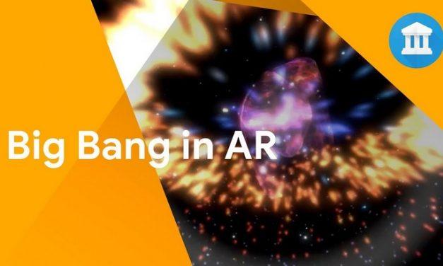 Une application de réalité augmentée te raconte le Big Bang !